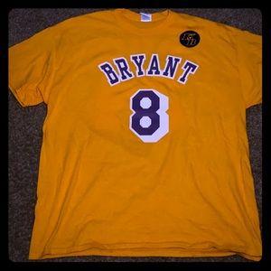 Lakers tribute shirt